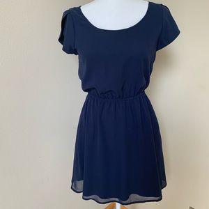 Frenchi navy blue dress